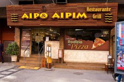 Aipo & Aipim Adhesive Display