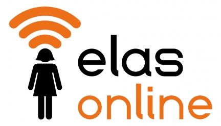 Elas Online logo design