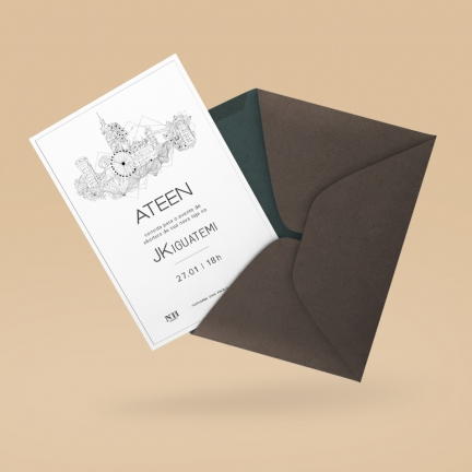 Ateen – Event invitation