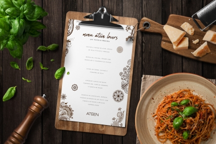 Ateen – Event Menu